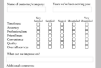 9+ Restaurant Customer Comment Card Templates & Designs throughout Comment Cards Template