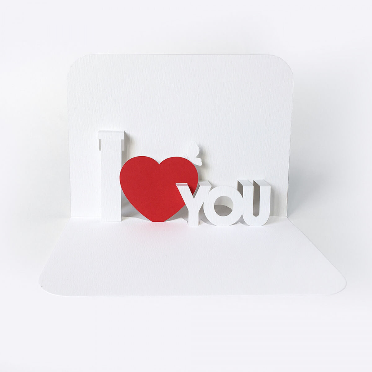 90 Deg Templates with I Love You Pop Up Card Template