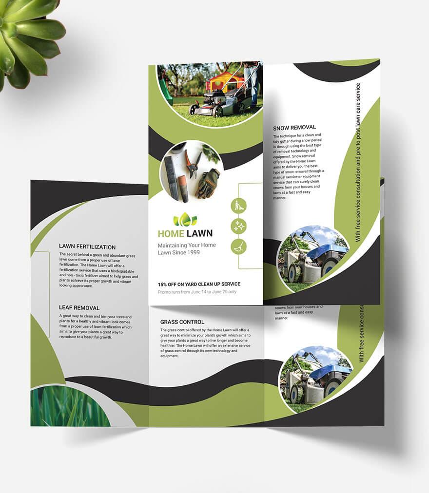 93+ Premium And Free Psd Tri Fold & Bi Fold Brochures Inside Ngo Brochure Templates