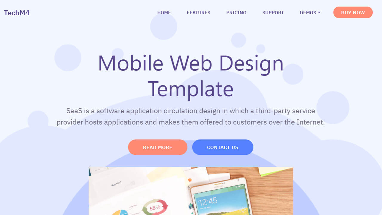 95+ Free Bootstrap Themes Expected To Get In The Top In 2019 inside Blank Food Web Template