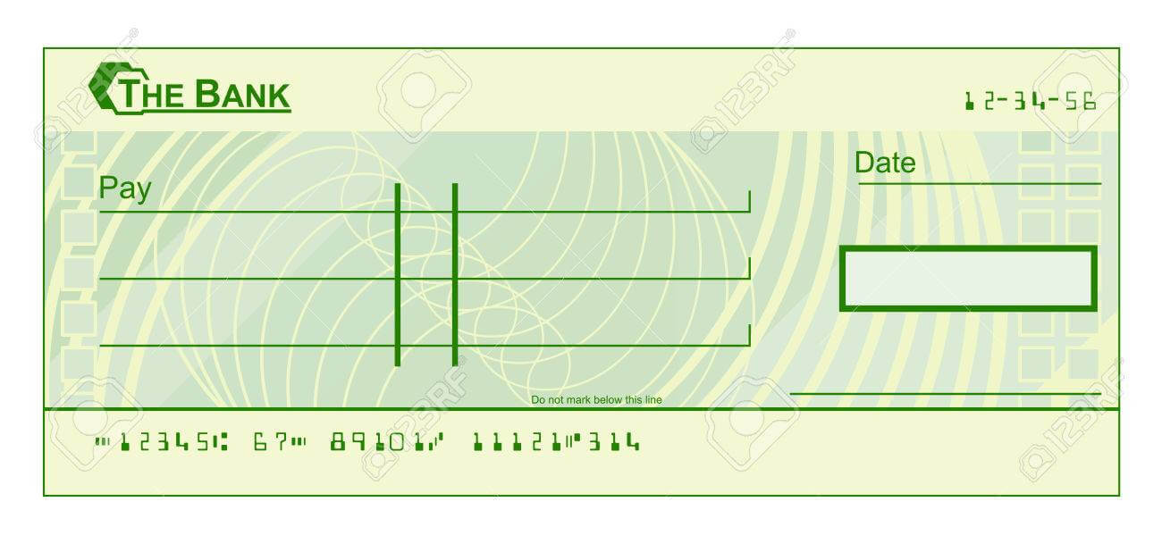 Blank Cheque Template Download Free