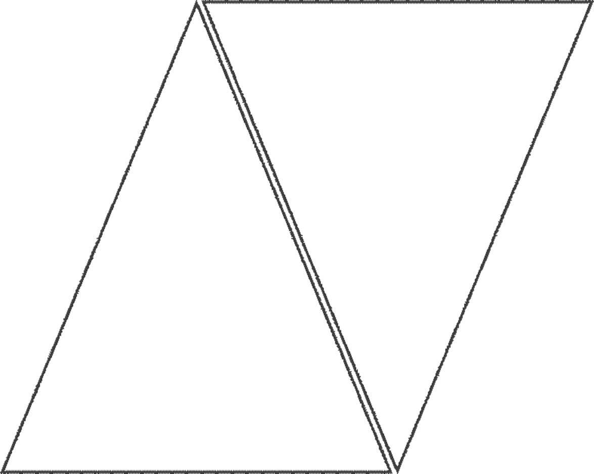 A Flag Tutorial | Triangle Banner, Pennant Banner Template Throughout Triangle Banner Template Free