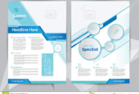 A4 Medical Brochure Design Template Front & Back Stock with regard to Healthcare Brochure Templates Free Download