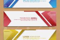 Abstract Banner Design, Modern Web Template, Promotional with Tie Banner Template