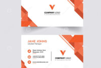 Abstruct Business Card Template Stock Illustration with regard to Adobe Illustrator Card Template