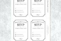 Acceptance Card Template Final Simply Print Preview Wedding regarding Acceptance Card Template