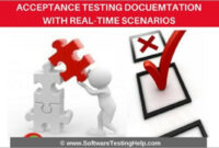 Acceptance Testing Documentation With Real Time Scenarios pertaining to Acceptance Test Report Template