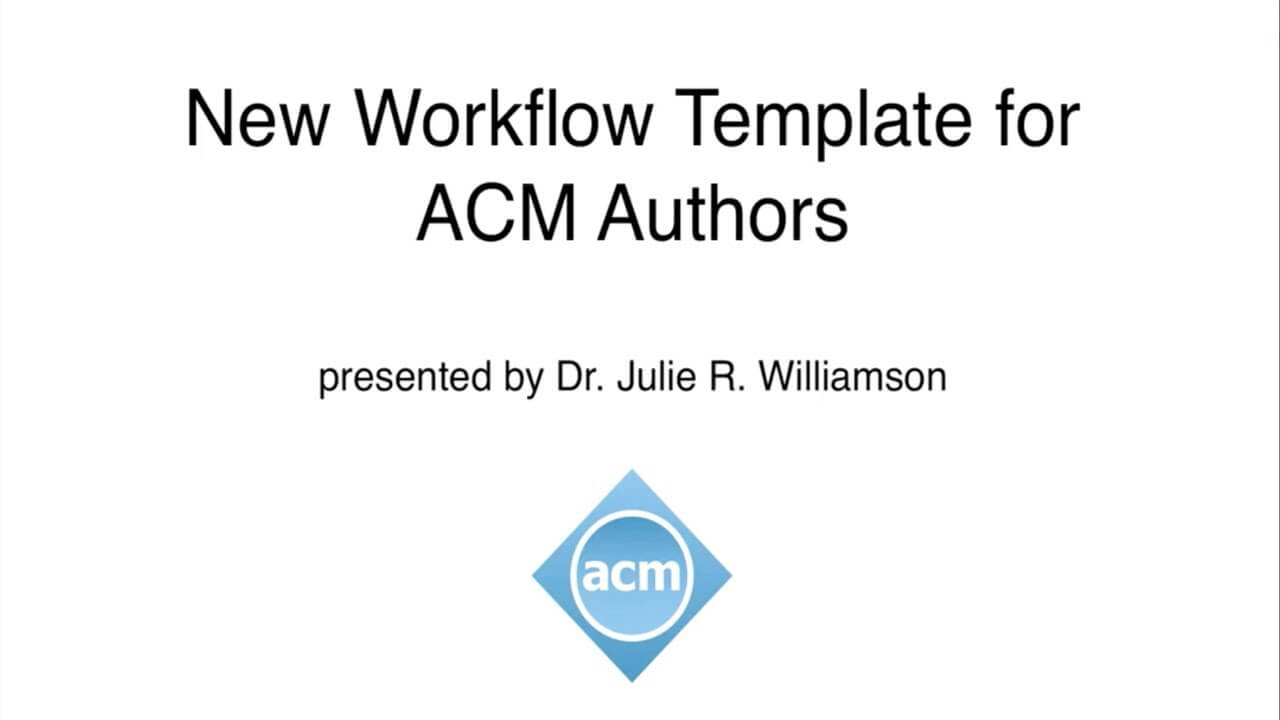 Acm Master Article Template within Scientific Paper Template Word 2010