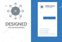 Ads, Advertising, Media, News, Platform Grey Logo Design And with regard to Advertising Card Template