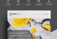 Advertisement, Architecture, Builder, Building, Business within Engineering Brochure Templates