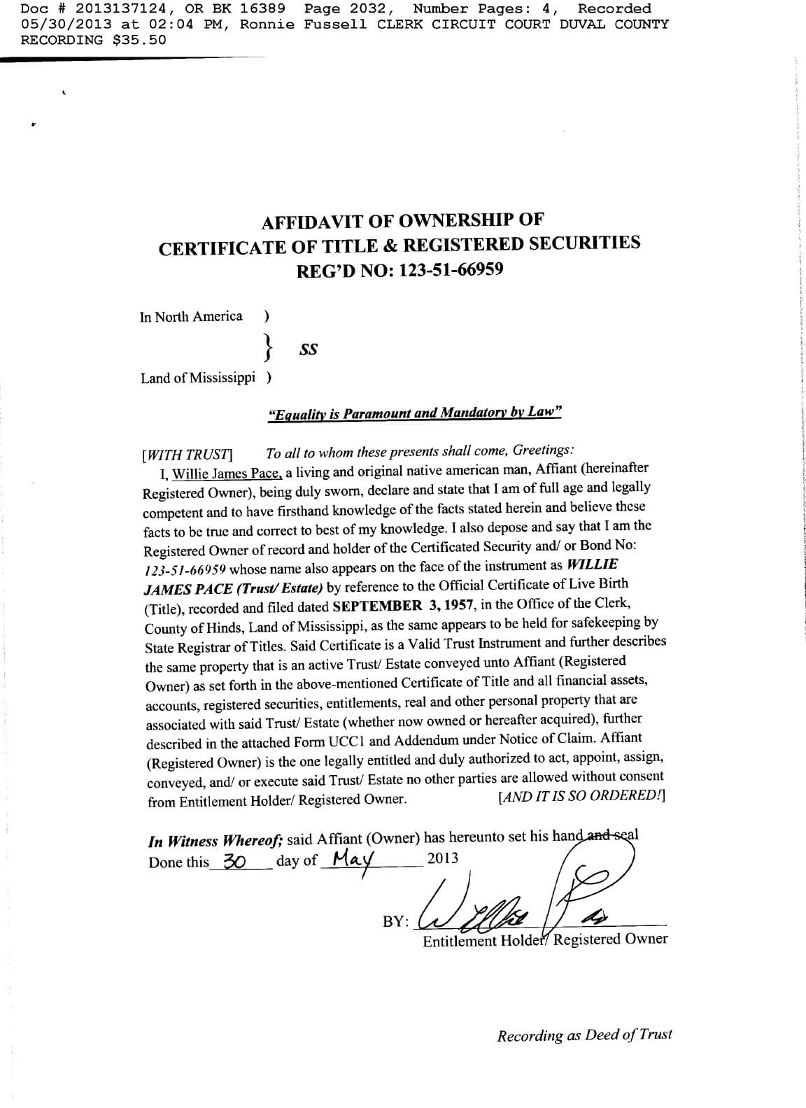 Affidavit Of Ownership Of Birth Certificate Throughout Certificate Of Ownership Template
