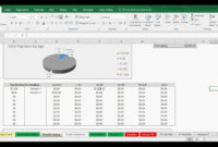 Aging Accounts Receivable / Payable – Tracking Template regarding Accounts Receivable Report Template