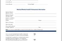 Airline Requirements For Traveling With An Emotional Support within Fit To Fly Certificate Template