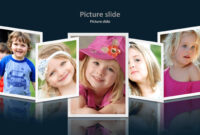 Album 2 Powerpoint Presentation Template with regard to Powerpoint Photo Album Template