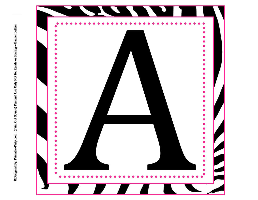 Alphabet Letters To Print Out Free Printable For Posters inside Letter Templates For Banners