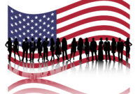 American Business People Powerpoint Templates – Business for American Flag Powerpoint Template