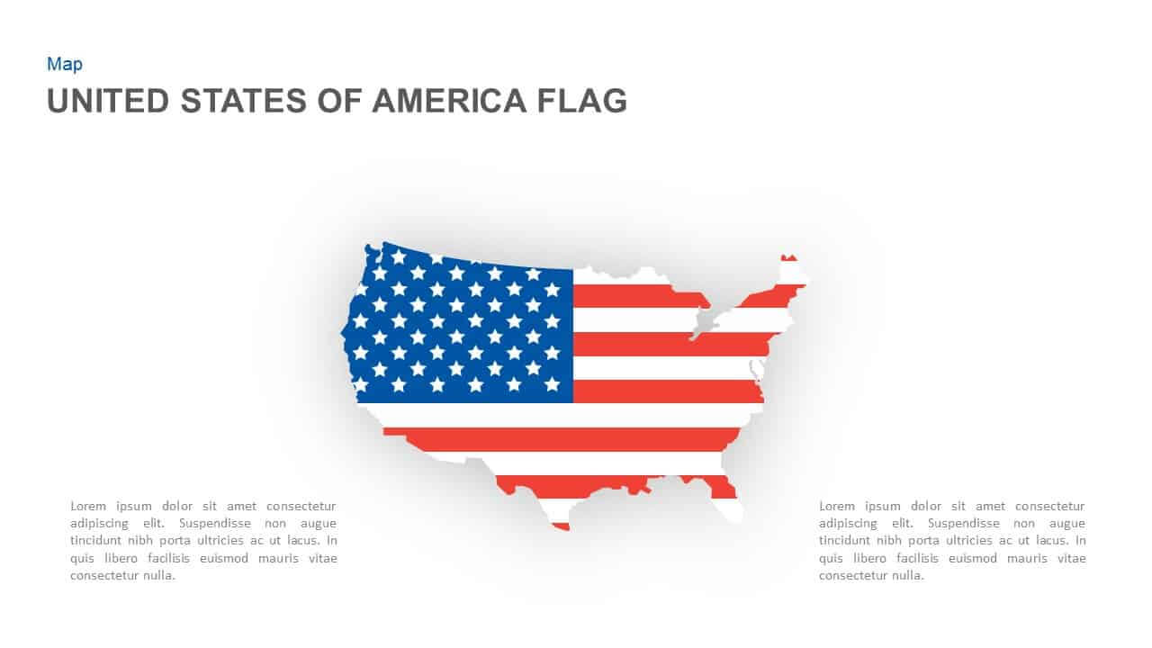American Flag Powerpoint Template And Keynote Slide with regard to American Flag Powerpoint Template