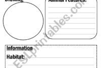 Animal Report Template – Esl Worksheetflora.m123 regarding Animal Report Template