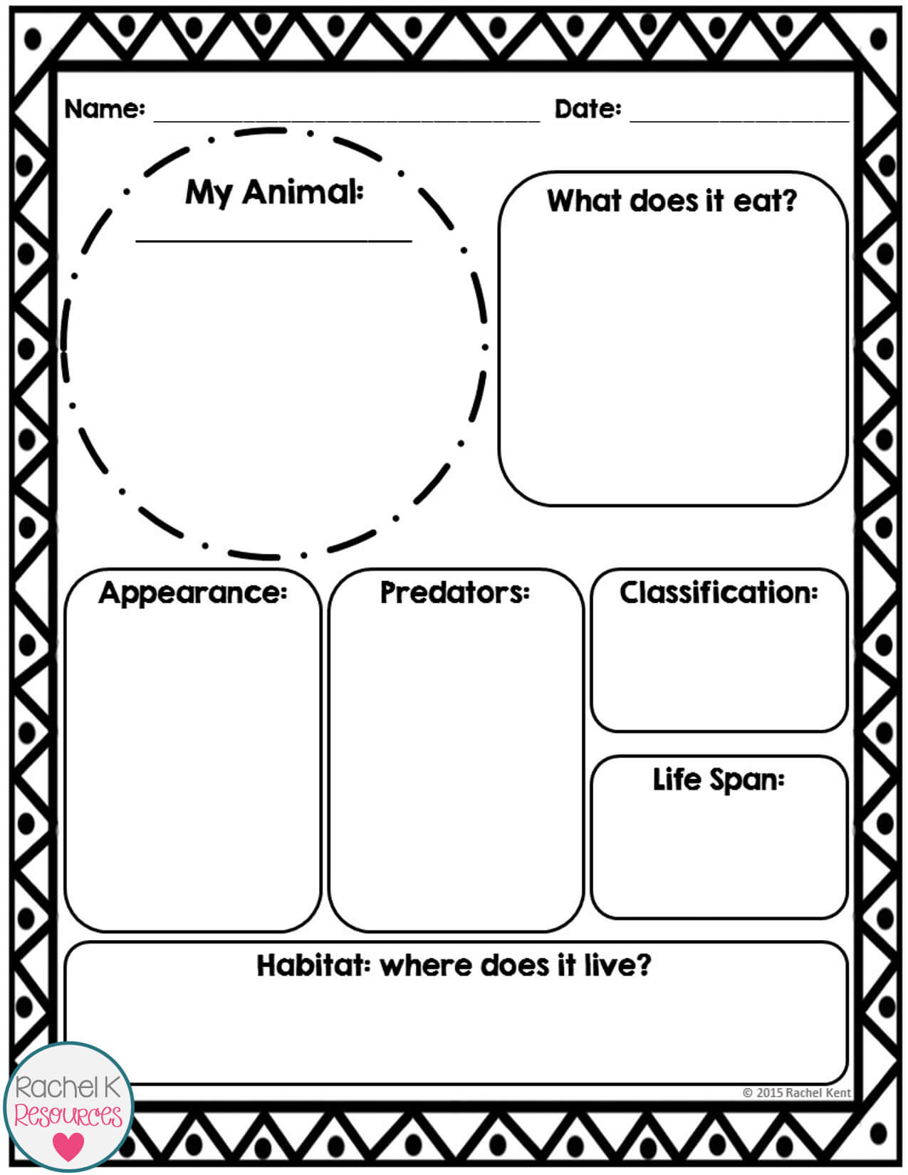 Animal Report Template | Report Template, Information Report Pertaining To Animal Report Template