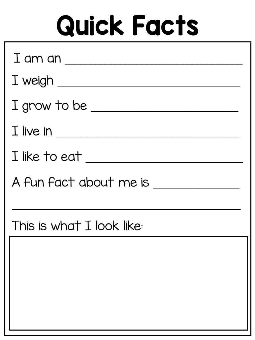 Animal Reports - Blank Templates For All Animal Research for Animal Report Template