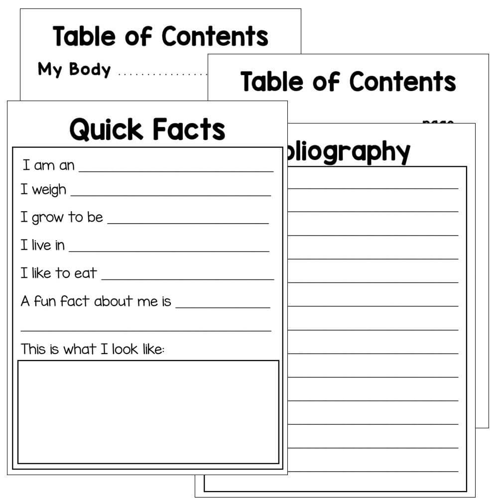 Animal Reports - Blank Templates For All Animal Research intended for Animal Report Template