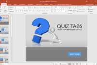 Animated Powerpoint Quiz Template For Conducting Quizzes intended for How To Create A Template In Powerpoint