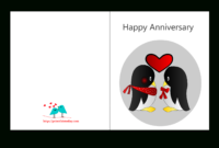 Anniversary Card Templates 12 Free – Anniversary Card in Anniversary Card Template Word