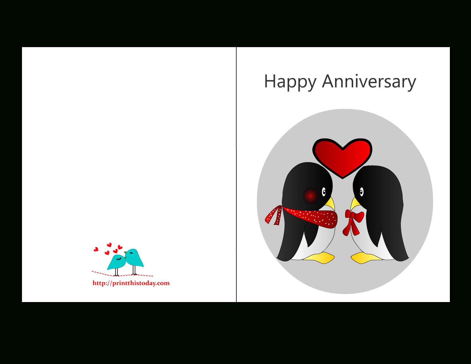 Anniversary Card Templates 12 Free - Anniversary Card In Word Anniversary Card Template