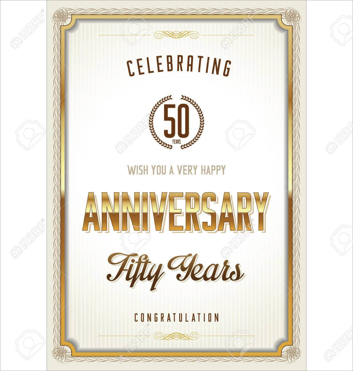 Anniversary Certificate Template intended for Anniversary Certificate Template Free