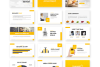 Annual Report Powerpoint Template – Free Presentations within Annual Report Ppt Template