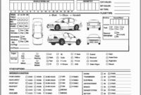 Annual Vehicle Inspection Report Form Free Template with Vehicle Inspection Report Template