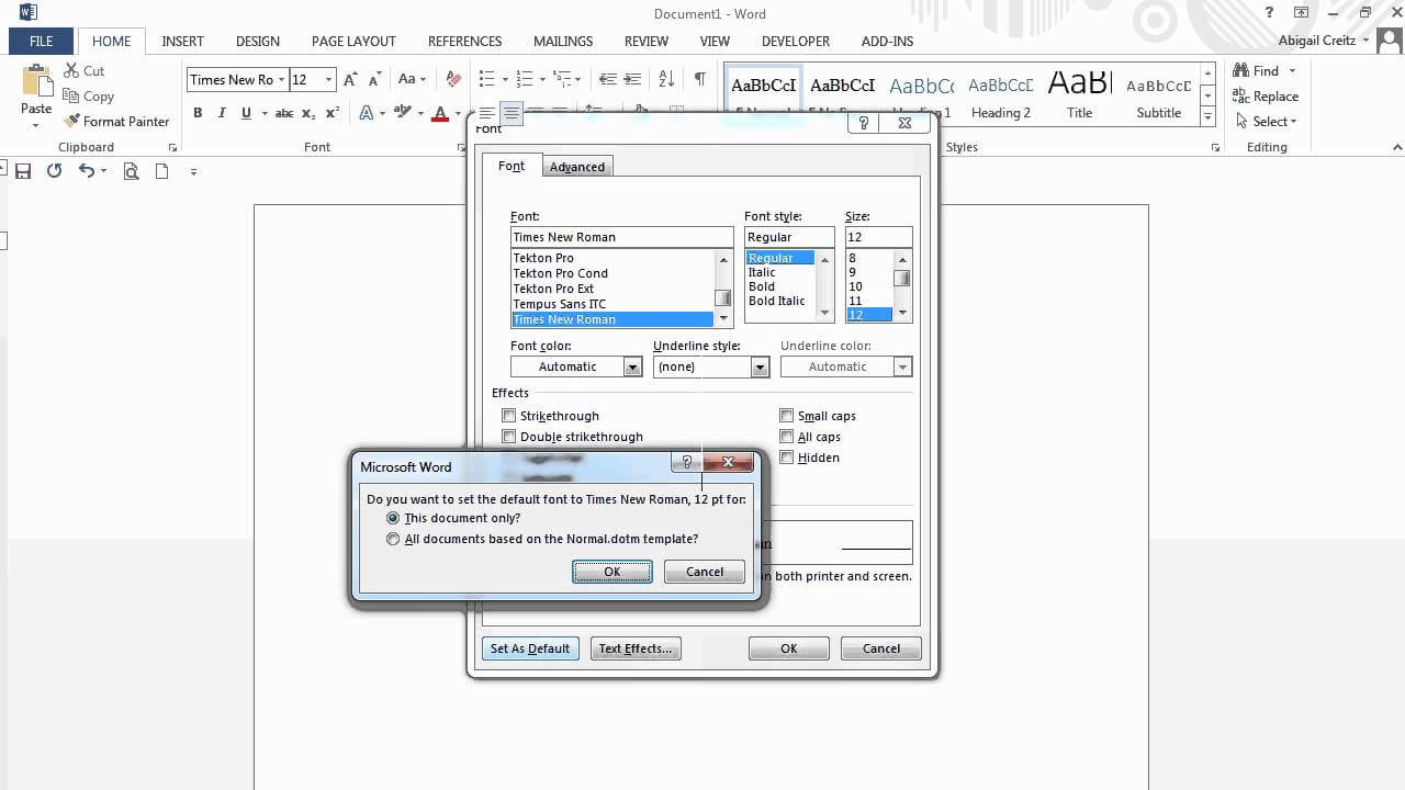 Apa: Formatting Microsoft Word 2013 Documents Pertaining To Apa Format Template Word 2013