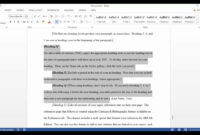 Apa Template In Microsoft Word 2016 pertaining to Where Are Templates In Word
