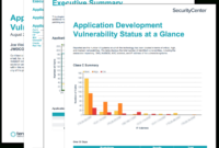 Application Development Summary Report – Sc Report Template throughout Nessus Report Templates