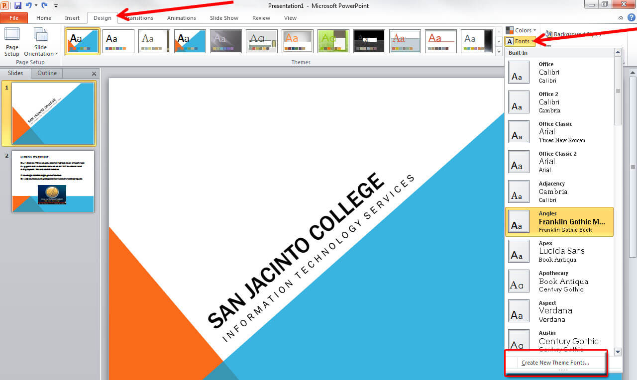 Applying And Modifying Themes In Powerpoint 2010 Intended For How To Change Template In Powerpoint