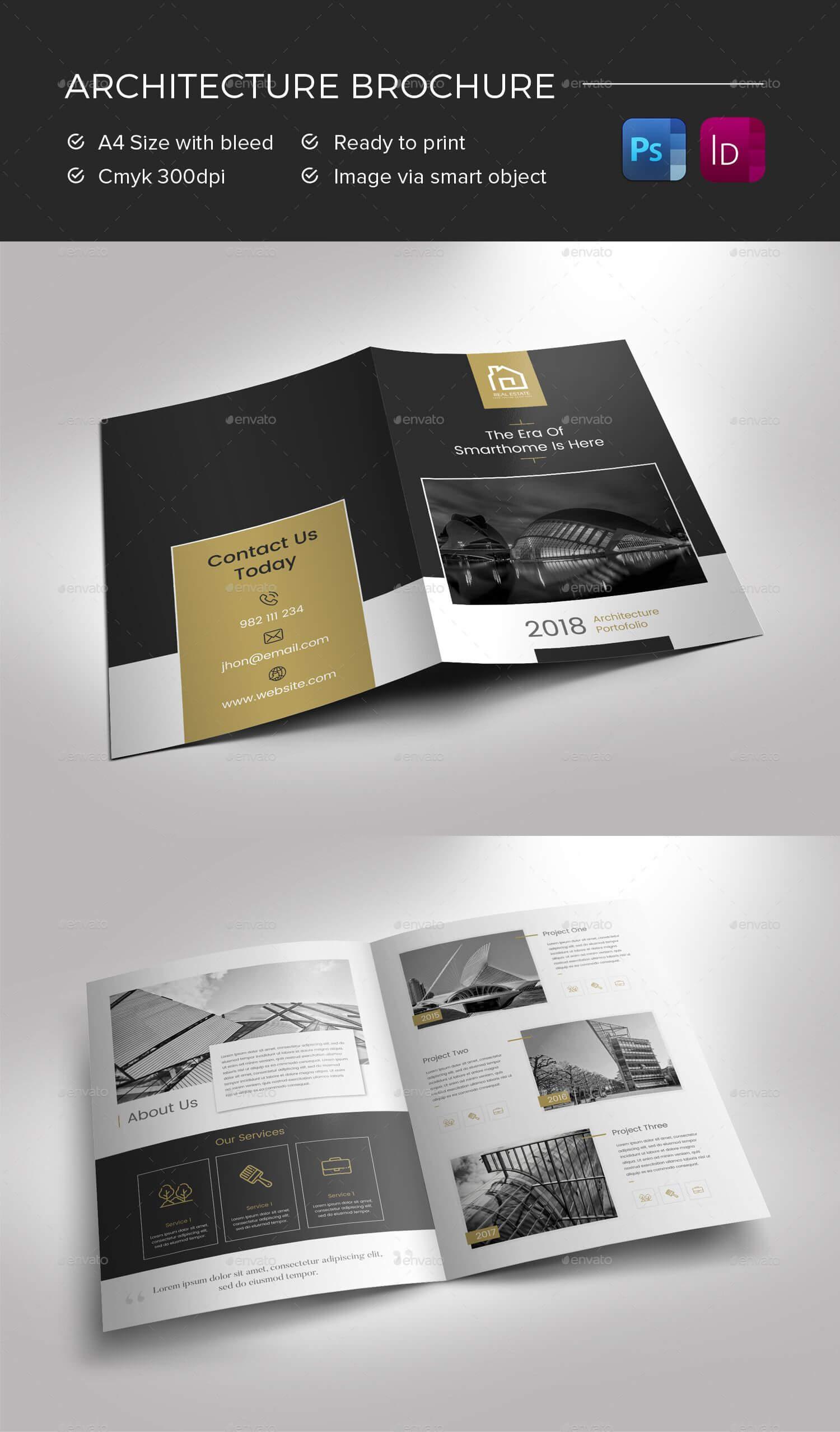 Architecture Brochure Preview - Graphicriver | Brochure In Architecture Brochure Templates Free Download