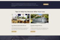 Ashton – Funeral & Cemetery Services WordPress Theme throughout Funeral Powerpoint Templates