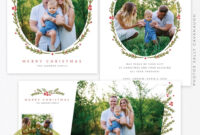 August Freebie – Christmas Card & Fb Timeline Templates inside Free Photoshop Christmas Card Templates For Photographers