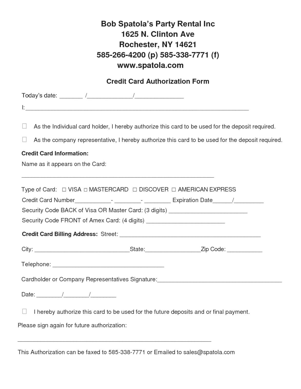 Authorization Form Template Example Mughals (Free Credit pertaining to Credit Card Authorization Form Template Word