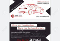 Auto Repair Business Card Template. Create Your Own Business.. regarding Automotive Business Card Templates