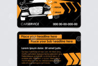 Auto Repair Business Card Template. Create Your Own Business with regard to Automotive Business Card Templates