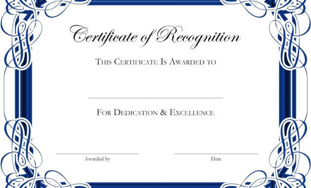 Award Certificate Templates Word 2007 - Atlantaauctionco pertaining to Award Certificate Templates Word 2007