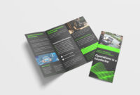 Awesome Business Tri Fold Brochure Design Template | 99Effects in Pop Up Brochure Template