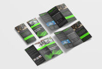 Awesome Business Tri Fold Brochure Design Template | 99Effects within Pop Up Brochure Template