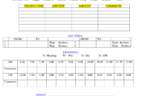 Baby Daily Sheet | Infant Daily Report – Download As Doc throughout Daycare Infant Daily Report Template