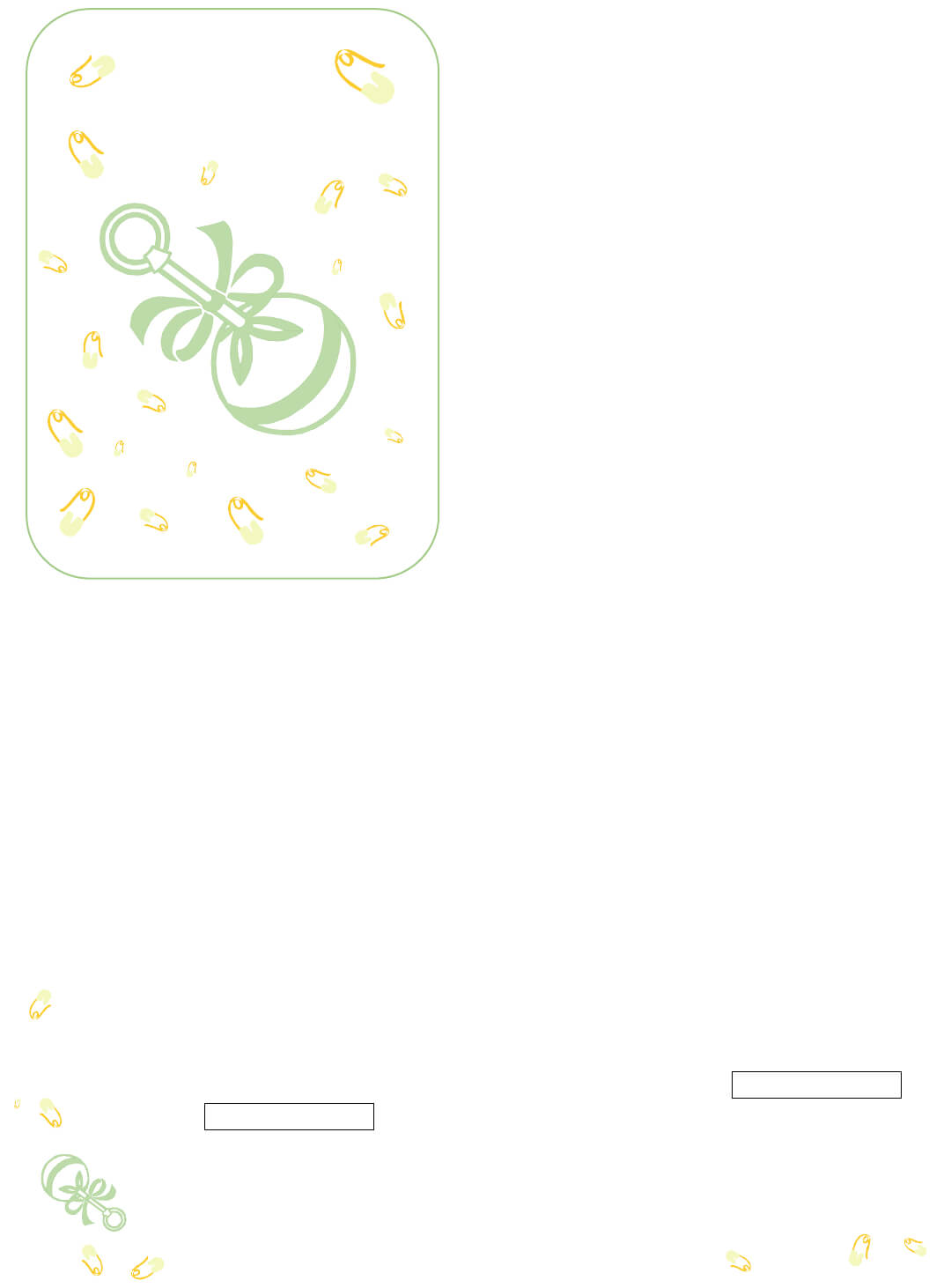 Baby Shower Invitations Templates - The Grid System regarding Free Baby Shower Invitation Templates Microsoft Word