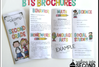 Back To School Night Brochure | Meet The Teacher Template inside Brochure Templates For School Project