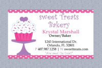 Bakery Business Card Template Free – 28 Images – Cake for Cake Business Cards Templates Free
