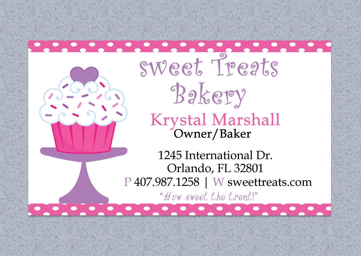 Bakery Business Card Template Free - 28 Images - Cake for Cake Business Cards Templates Free
