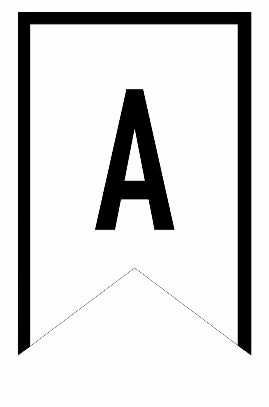 Banner Templates Free Printable Abc Letters - Printable Within Letter Templates For Banners
